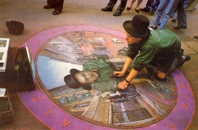 JULIAN BEEVER --- SELF-PORTRAIT